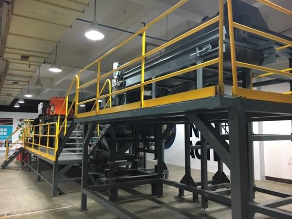 全新升级的资源回收业务测试设备