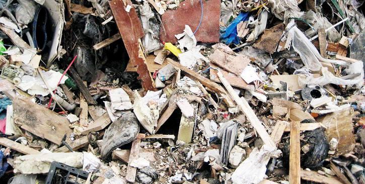 建造及拆卸垃圾