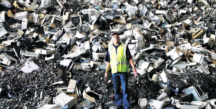 电子电器废弃物