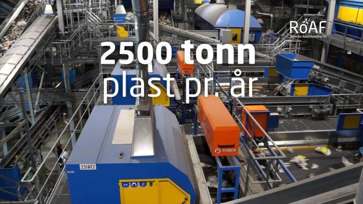 ROAF垃圾厂每年可回收2500吨塑料