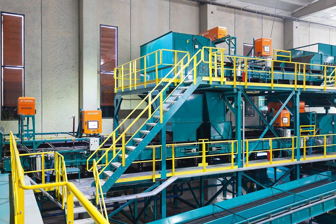 土耳其Burkasan新建的HDPE和PET回收分选线